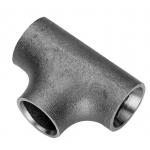 Raccordo tee a saldare acciaio nero