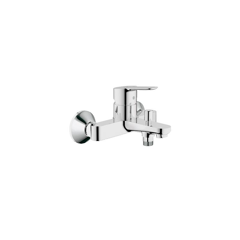 Miscelatore per vasca da bagno grohe serie bauedge fornid - Miscelatore a parete bagno ...
