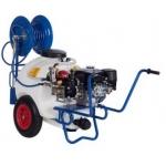 Carrello da irrorazione diserbo 120 litri - motopompa 6.5 HP - ACPI 120-PA330.1 - AXO