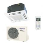 Condizionatore a cassetta 60x60 - 4 vie inverter - Panasonic