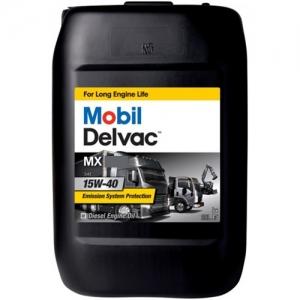 Mobil Delvac MX 15W-40 - Camion - Bus - Escavatori