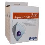 Mascherina FFP2 - Drager X-plore 1720 V - 10 pezzi