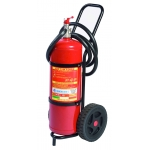 Estintore con carrello 30-50-100 kg a polvere