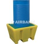 Vasca stoccaggio polietilene 1 fusto