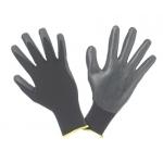Guanto nero in nitrile elasticizzato - 5 paia - Honeywell