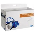 Kit maschera verniciatura professionale Drager X-plore 3300 completo di filtri