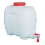 Serbatoio botticella con rubinetto alimenti 16 litri per vino e olio