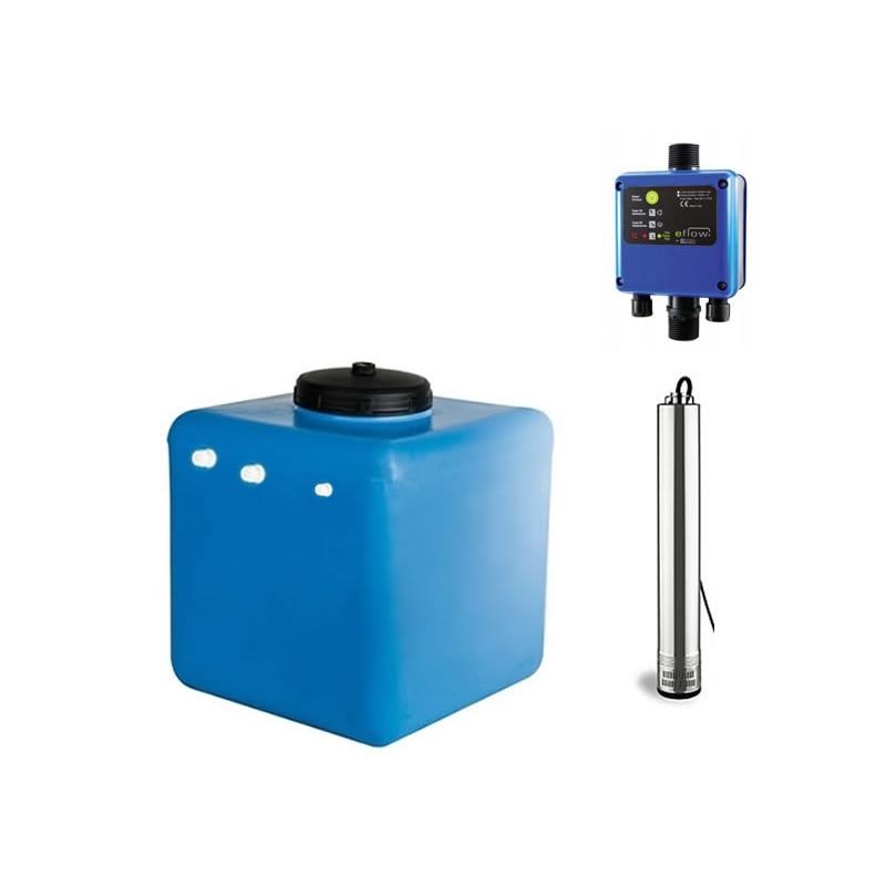 Schema Elettrico Pompa Sommersa Pozzo : Cubo 1 kit di incremento pressione pompa sommersa fornid