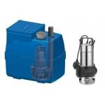 Mold 400 - Pozzetto acque reflue - Vortex - Acciaio Inox - 1 Hp