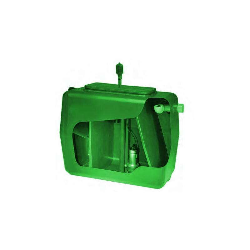 Depuratore fanghi attivi acque reflue - Depurbox Base - 5 Abitanti - Fornid