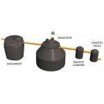 Depuratore a fanghi attivi per acque reflue - Depurbox Duo - Lowara