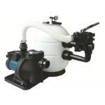 Iris - Impianto di filtrazione per piscina con filtro soffiante