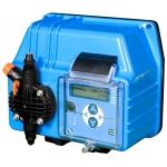 Pompa dosatrice con strumento incorporato per la regolazione e il controllo dei parametri pH, Rx(mV) e ppm (Cloro).