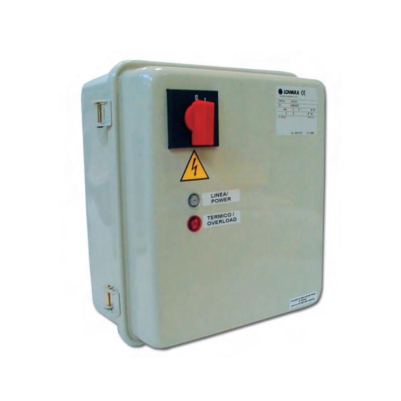 Schema Quadro Elettrico Per Pompa Sommersa : Qm lowara quadro elettrico monofase fornid