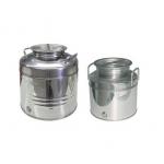 Contenitori olio di oliva - 10,15 e 25 litri - Acciaio