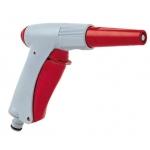 Pistola per irrigazione a getto con pulsante
