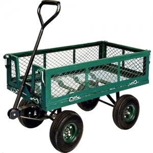 Carrello giardinaggio con ruote fornid - Sacchi di terra per giardino ...