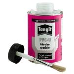 Colla Tangit con pennello e tubetto per tubi PVC