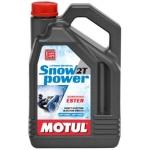 Motul SnowPower 2T  - Olio per motoslitte