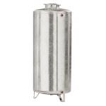 Serbatoio 1000 litri in acciaio zincato