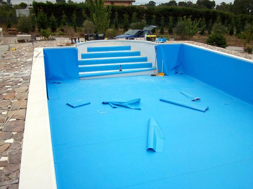 Liner in pvc per rivestimento piscina unicolor fornid - Liner per piscine ...